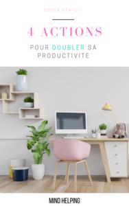 DOUBLER SA PRODUCTIVITE