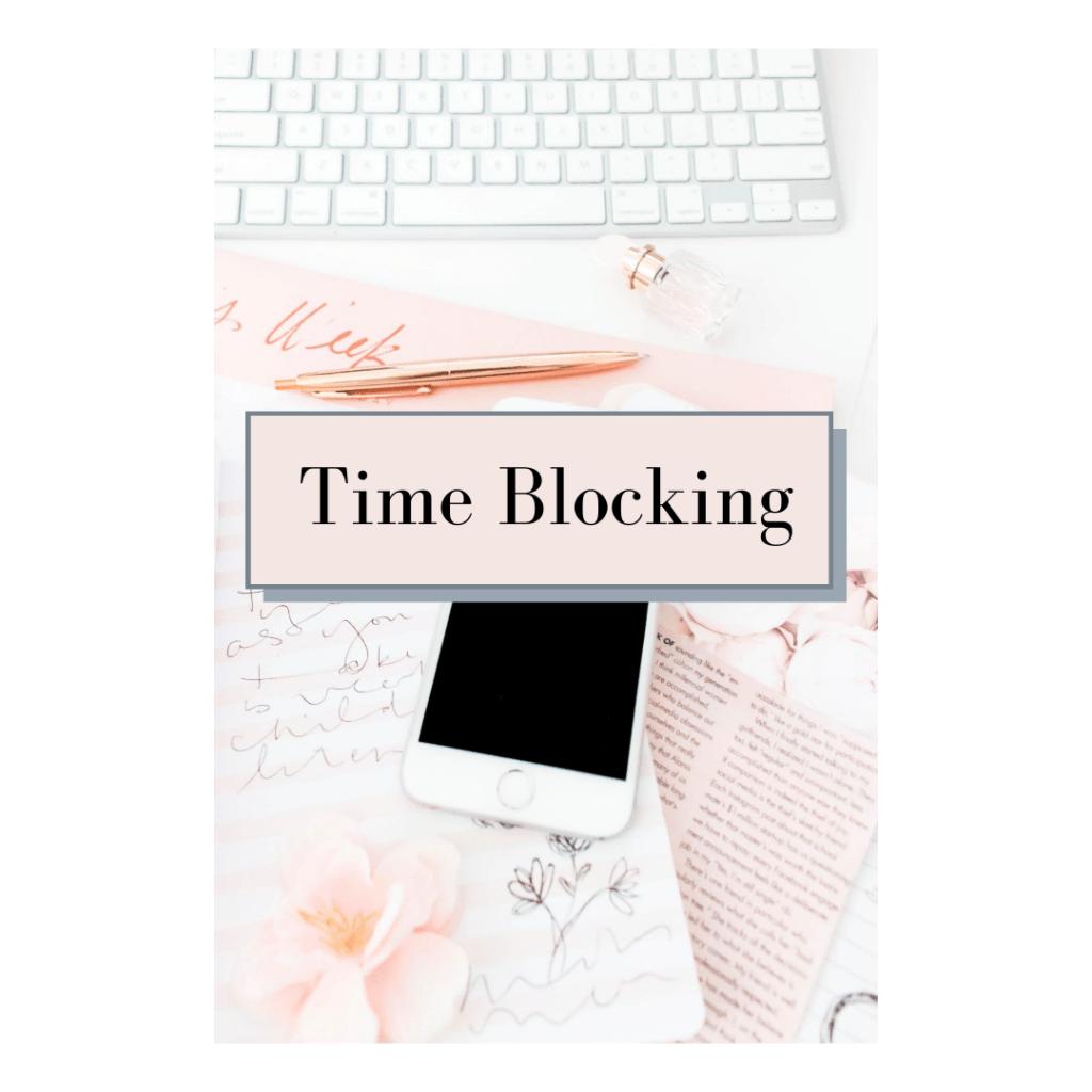 Utiliser le time blocking pour créer du contenu
